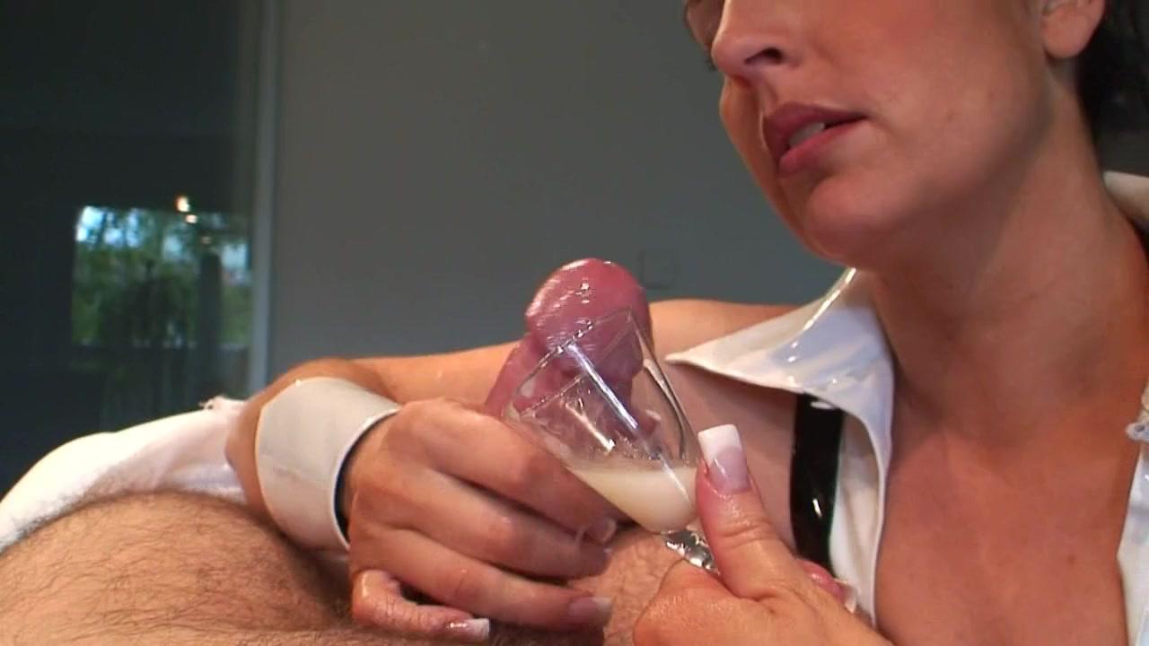 Постановочное домашнее, сбор спермы порно видео