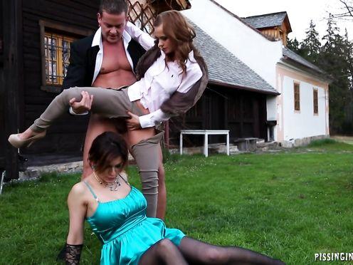 Жених сбежал с двумя подругами невесты чтобы трахнуться по полной