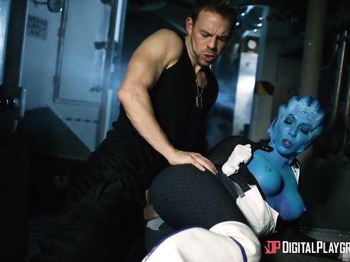 Редкое порно видео секса с инопланетянкой другой планеты
