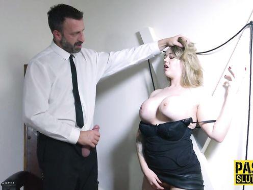 Жесткое БДСМ демонстрирует муж похотливой жене