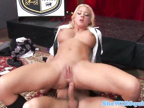 Обучение молодых порно актрис в академии секса
